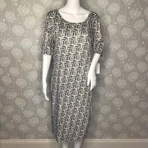 Lularoe Women's Dress Size XL Julia Gray